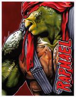 #025 - Raphael [Teenage Mutant Ninja Turtles] by NessaSan