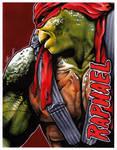 #025 - Raphael [Teenage Mutant Ninja Turtles]