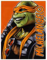 #027 - Michelangelo [Teenage Mutant Ninja Turtles] by NessaSan