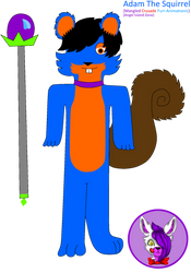 Adam The Squirrel by Mangled-Funtime-Fox