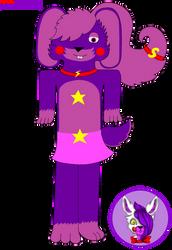 RockStar Shadow Bonnie by Mangled-Funtime-Fox