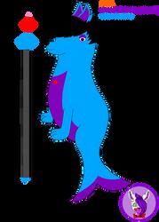 Jinn The AquaFox by Mangled-Funtime-Fox