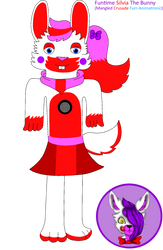 Funtime Silvia The Bunny by Mangled-Funtime-Fox