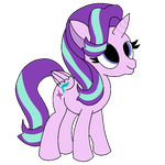 StarLight Glimmer [Faby + Mangled] by Mangled-The-Wolf