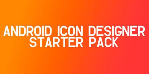 Android Icon Designer Starter Pack