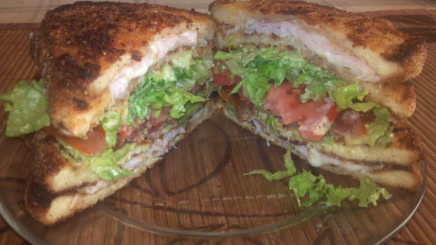Double Crusted Croque-Monsieur Avocado BLT by FutureChefHaku