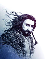 Young Thorin sketch by IrbisN