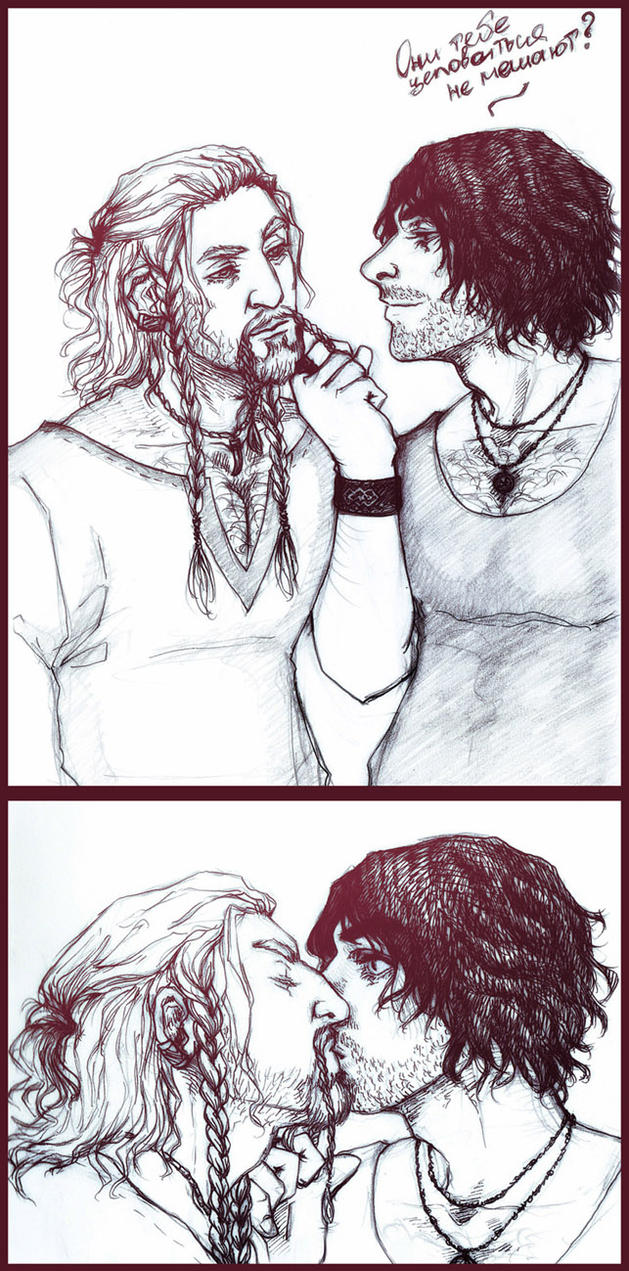 modern Fili and Kili by IrbisN