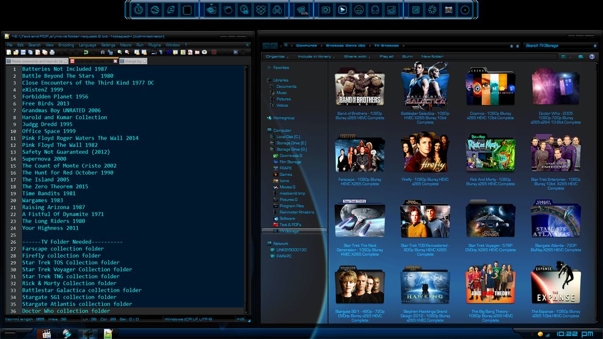 Movie-TV folders needed by Painkiller4life