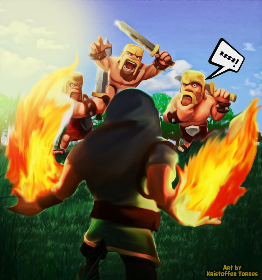 Clash Of Clans By KristoFFerEmmanuel On DeviantArt