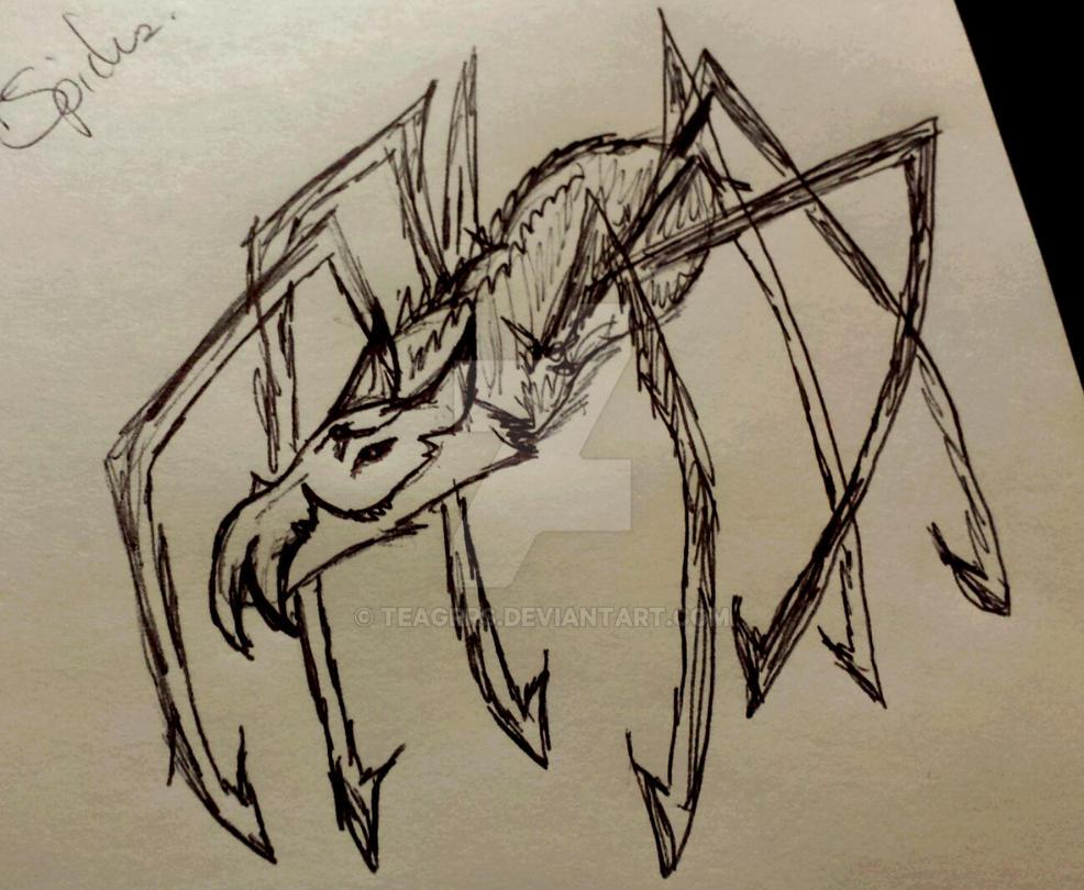 wolf Spider by Teagrrs