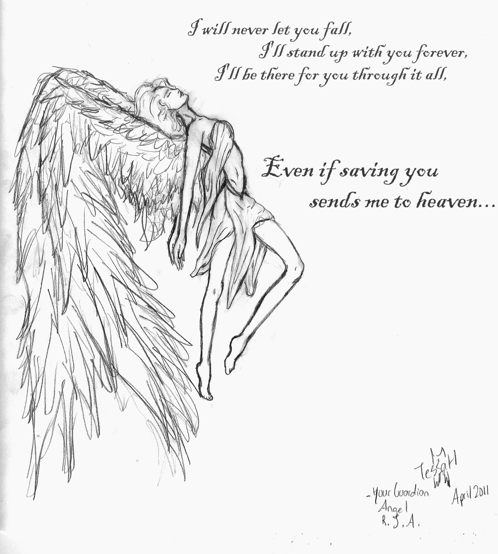 your guardian angel by freetofly3733 on deviantart