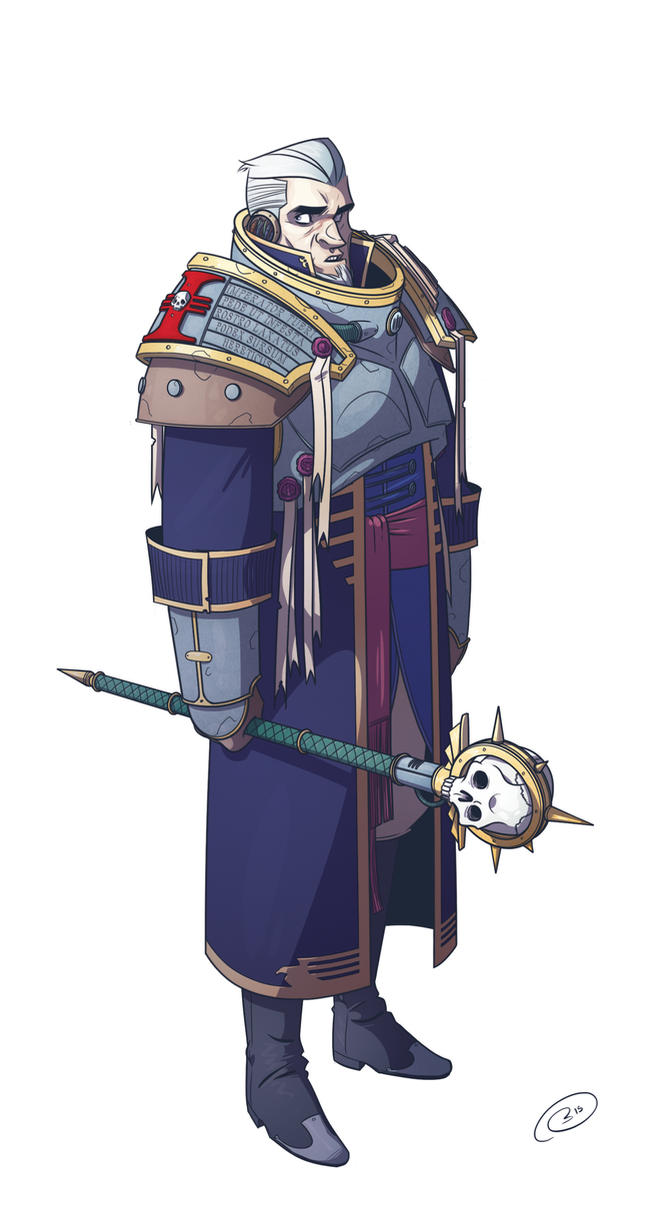 Inquisitor by bazazatron
