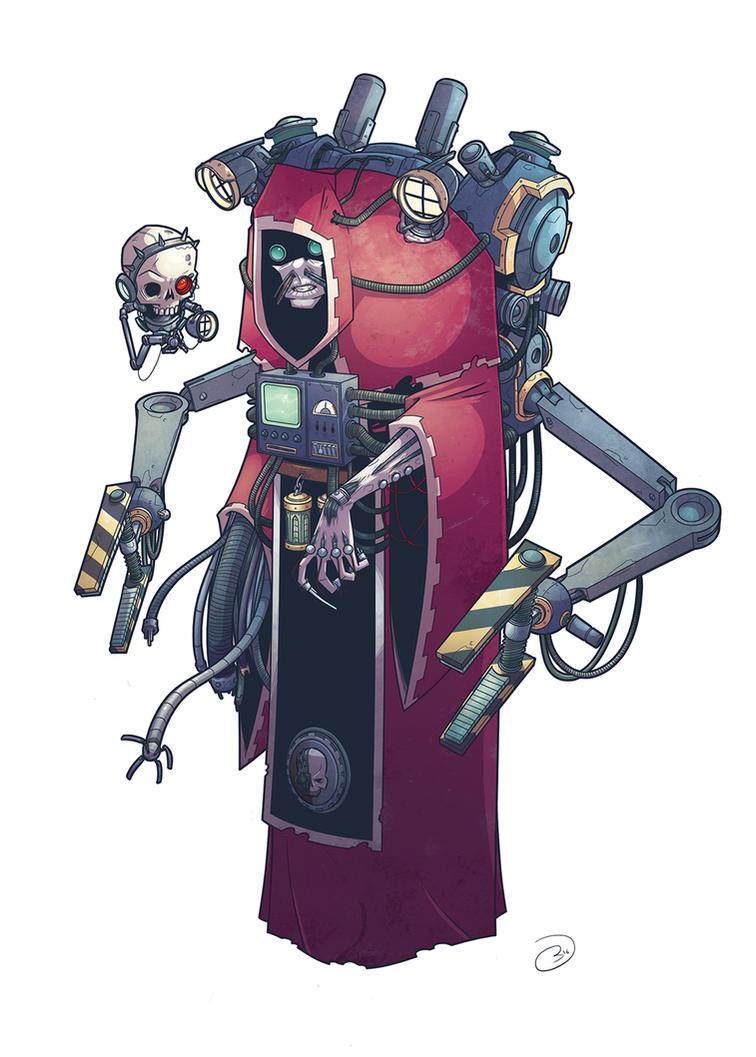 Mechanicus by bazazatron