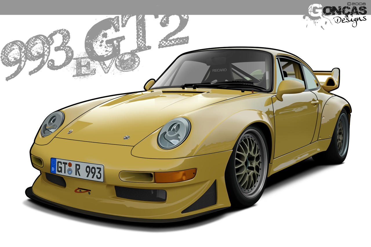 porsche 993 gt2 evo by carguy88 on deviantart. Black Bedroom Furniture Sets. Home Design Ideas