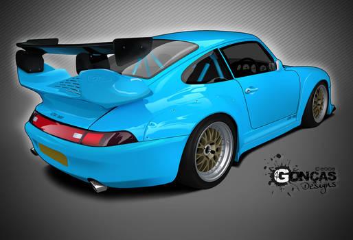 Porsche 993 GTR 600 Gemballa
