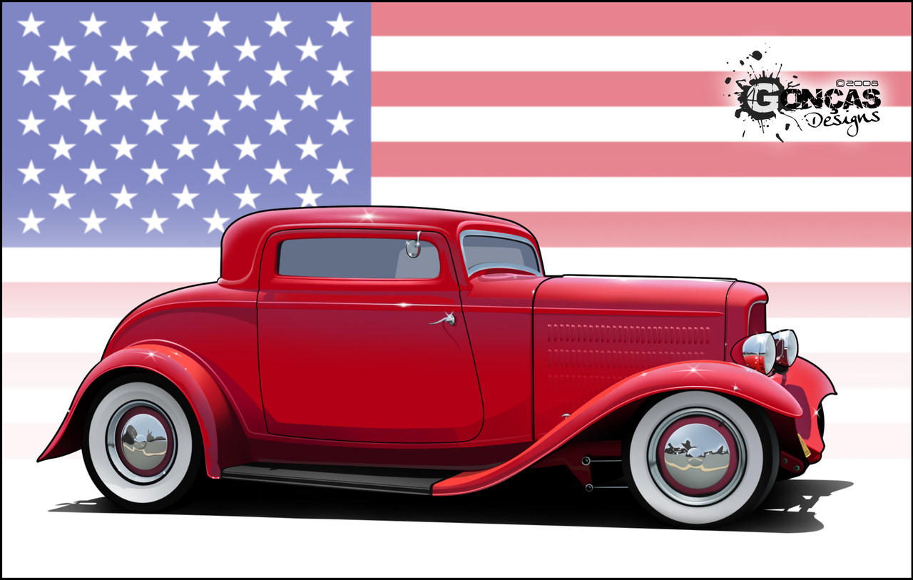 1932 ford 3 window coupe by carguy88 on deviantart for 1932 3 window ford coupe