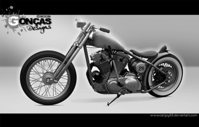 Harley Sportster Bobber by carguy88