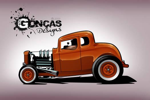 '32 5 window Coupe