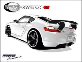 Porsche Cayman GT Vector by carguy88