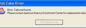 Portal Error Message
