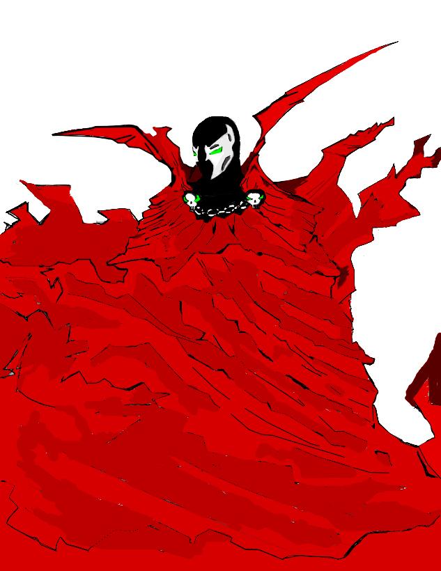 Spawn cape
