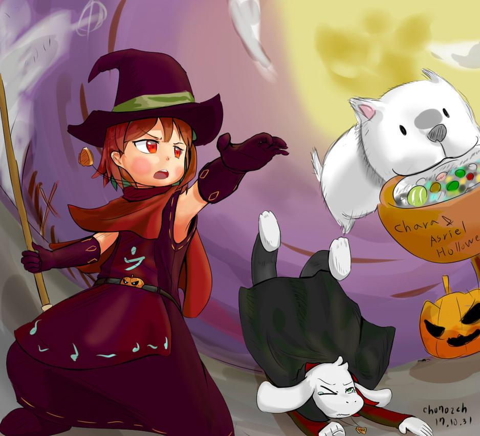 undertale - halloween by ch0702ch on DeviantArt