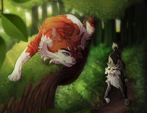 Chance Encounter (Collab with Gelidwolf)
