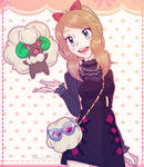 Pokemon Masters / Serena and Whimsicott