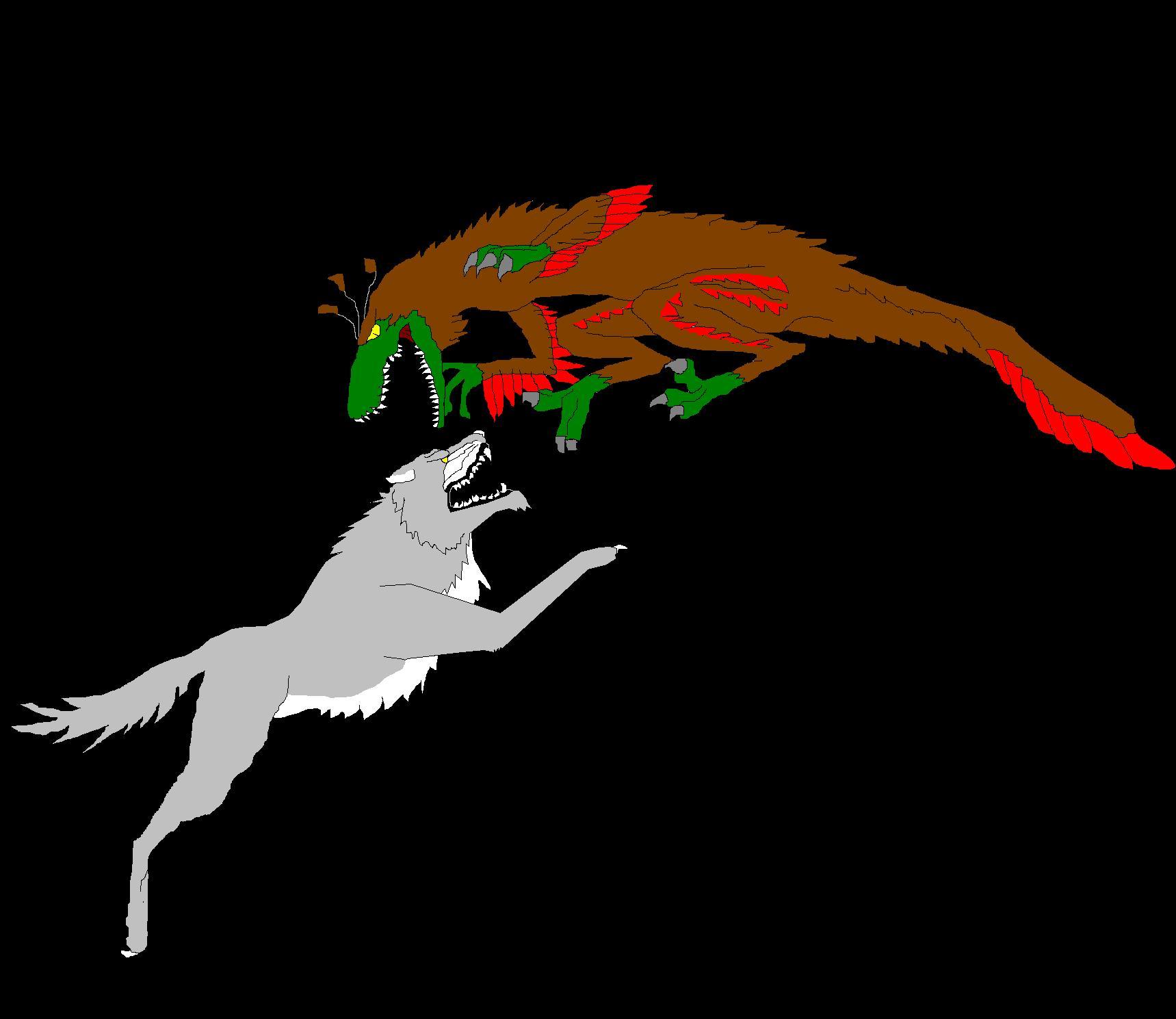 Dire wolf vs wolf - photo#25
