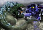 Old vs New: Godzilla vs Gipsy Danger