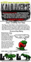 Kaijuverse Making Tutorial Part 1: Kaiju Making