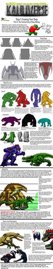 Kaijuverse Tutorial Part 2: Technical Kaiju Making