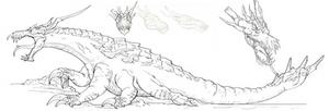 Creature Design Assignment: Sith Krayt Dragon