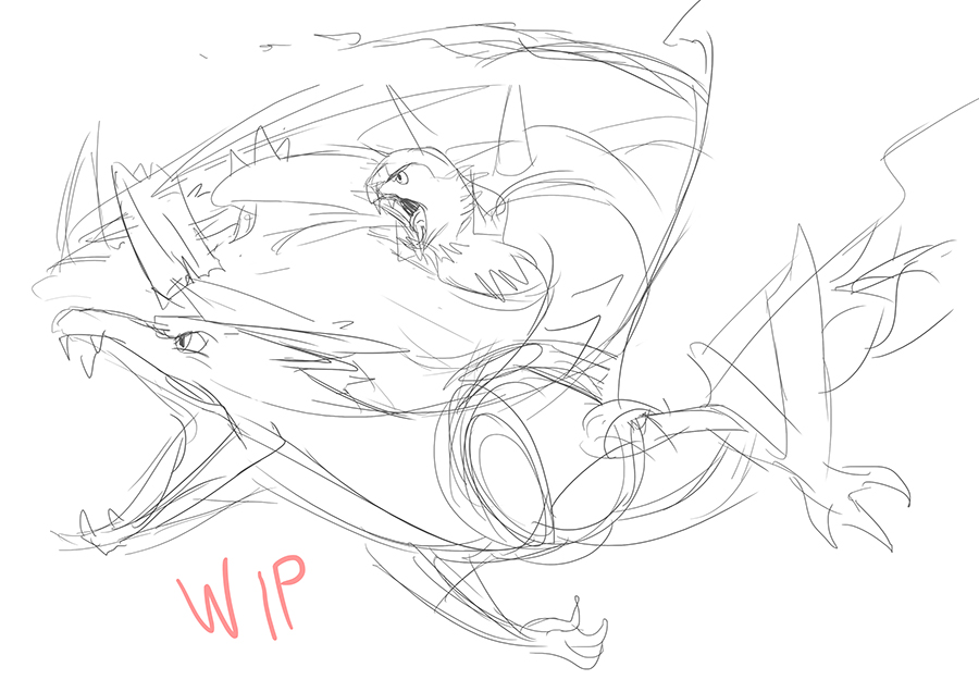 WIP2 - Me Fave Poke Starters by A3DNazRigar