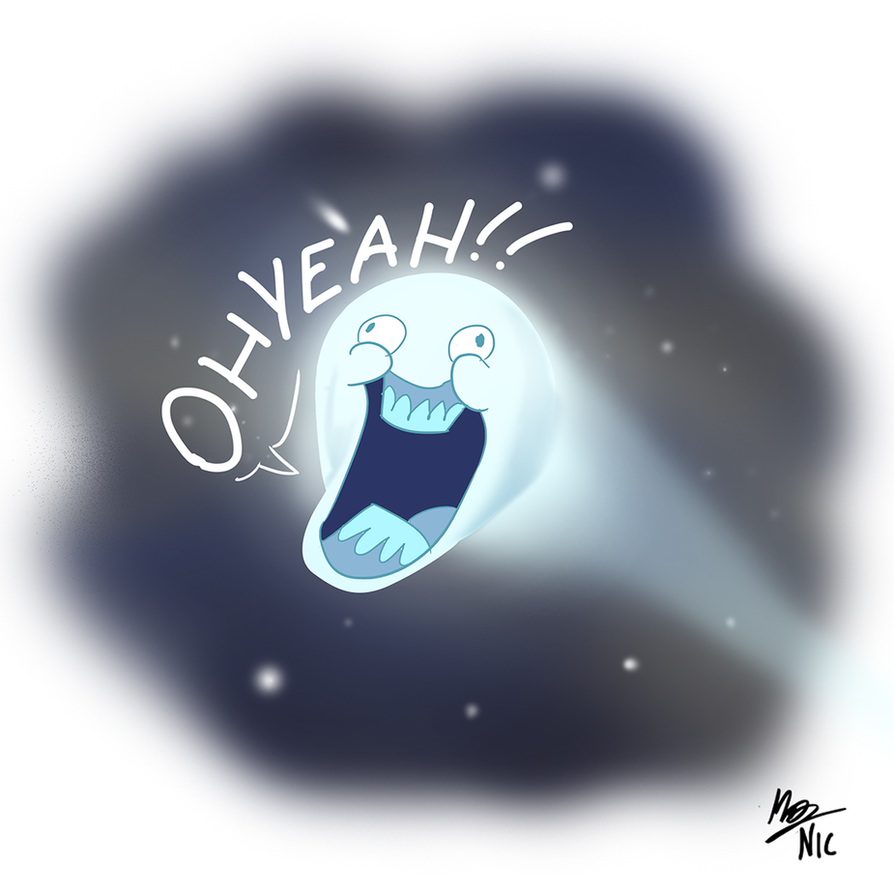Doodle: A Comet by A3DNazRigar