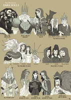 The Deities of Dark Souls by A3DNazRigar