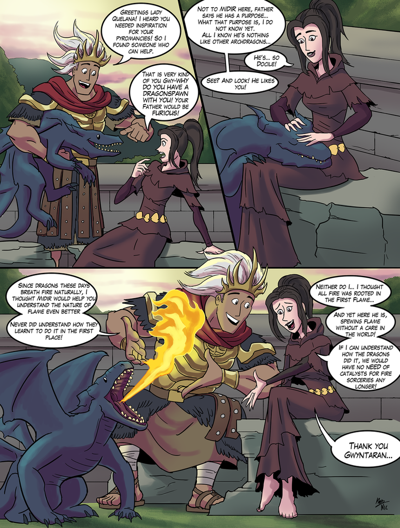 Dark Souls: Midir is a Good Boy by A3DNazRigar