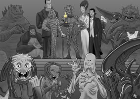 Movie Monsters at the Oscars
