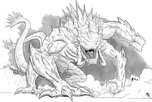 Pacific Rim - The Mega-Kaiju by A3DNazRigar