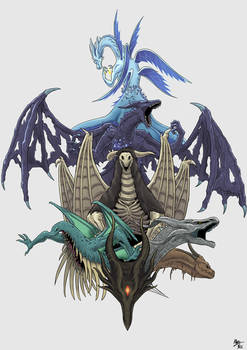 The Dragons of Dark Souls