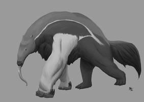 Terra-2 - Colossal Anteater (Speedpaint) by A3DNazRigar