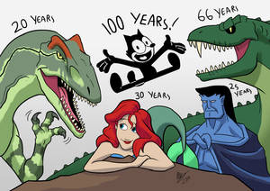 Some Anniversaries in Animation 2019