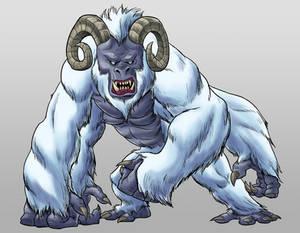 Commission - Snow Beast