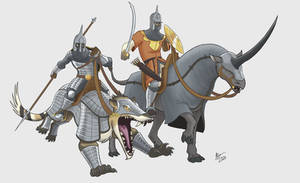 Mamluk Monstrous Cavalry