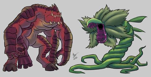 Commission - Khalagul and Dragonvine