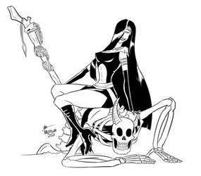 Commission - Necromancer