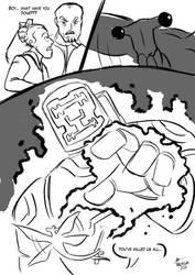 Sketch Comic: Qu vs Celestial