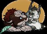 .:MiniChibis:. [Couple] Xeehsl and Maybelline