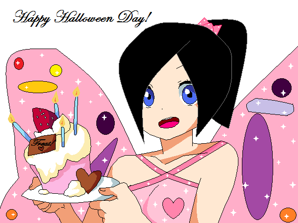 Kate Heart : Happy Halloween Day! by ILuvVegeTarbleTrunks